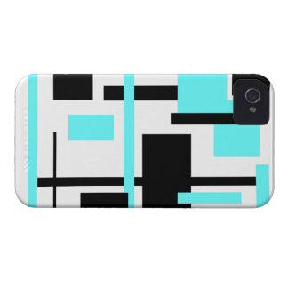 Rectangular Pattern 60 iPhone 4 Case-Mate Case