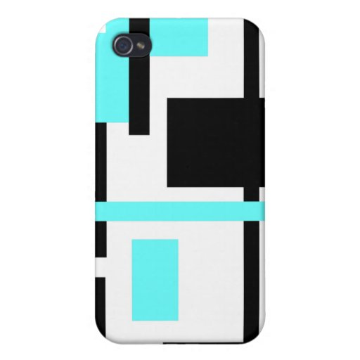 Rectangular Pern 60 Cover For iPhone 4