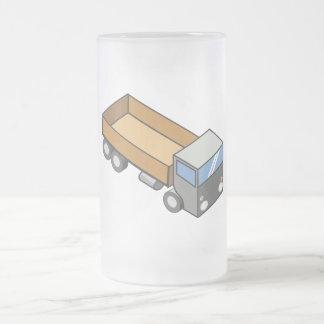 Rectangular truck coffee mug