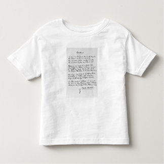Recueillement', signed sonnet, 1861 t-shirt