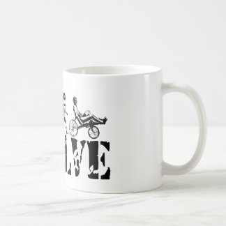 Recumbent Bicycle Evolution Fun Sports Art Mug