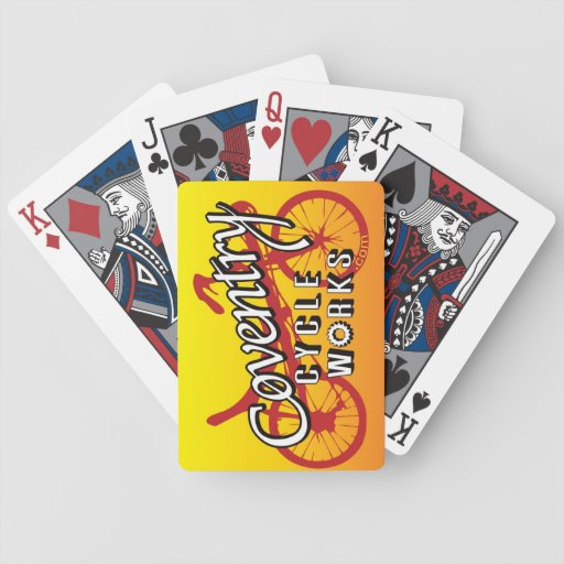 """RECUMBENT """"Bicycle"""" Playing Cards"""
