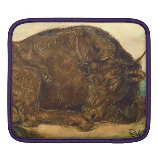 Recumbent Bull 1842 Sleeves For iPads