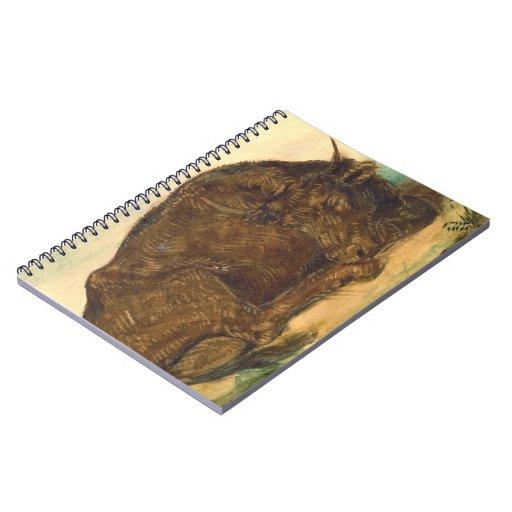 Recumbent Bull 1842 Notebooks