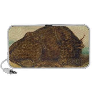 Recumbent Bull 1842 Travel Speakers