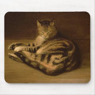Recumbent Cat, 1898 Mouse Mat