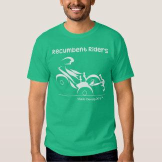 Recumbent Riders Trikes Tee Shirt
