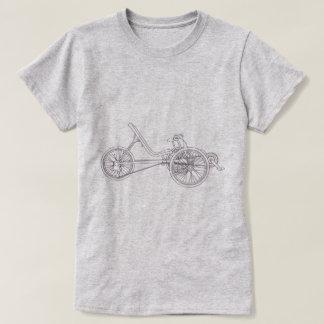 Recumbent Trike Light T-shirts