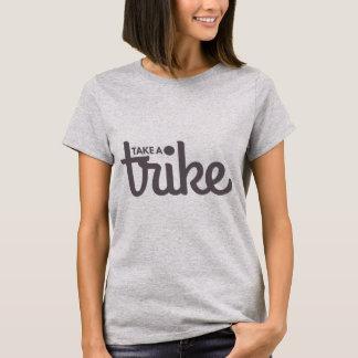 Recumbent Trike: Take a Trike Light T-Shirt