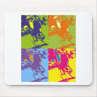 Recumbent Warhol Mousepad