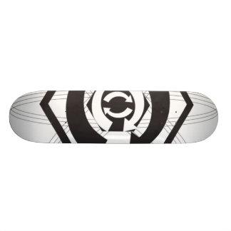 recycle 20 cm skateboard deck