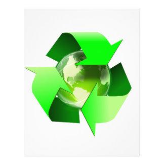 Recycle 21.5 Cm X 28 Cm Flyer