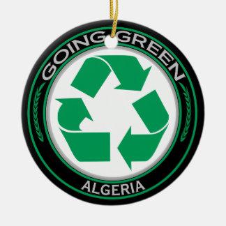 Recycle Algeria Round Ceramic Decoration