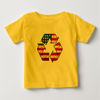 Recycle America Baby Shirt