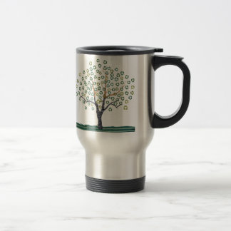 Recycle Art Recycle Tree Travel Mug - Stainless