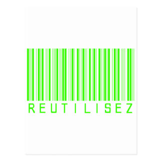 Recycle Barcode 01 Postcard