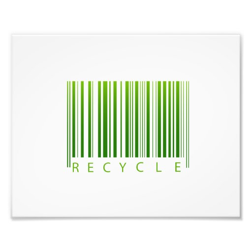recycle barcode graphic.png photographic print