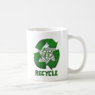 Recycle Basic White Mug