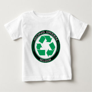 Recycle Belgium Baby T-Shirt