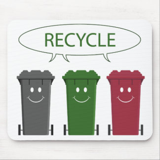 Recycle Bins Mouse Pad