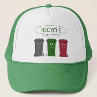 Recycle Bins Trucker Hat