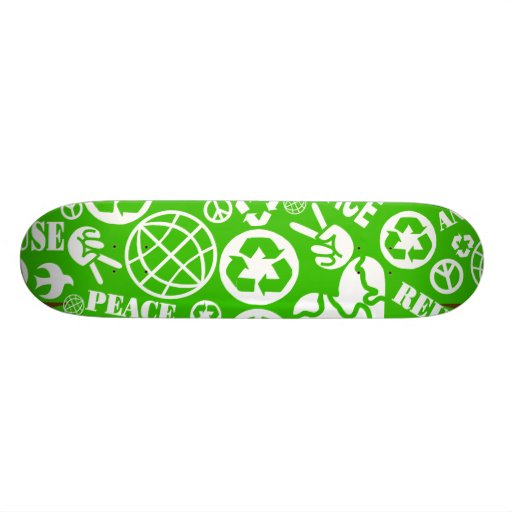 recycle board skate board
