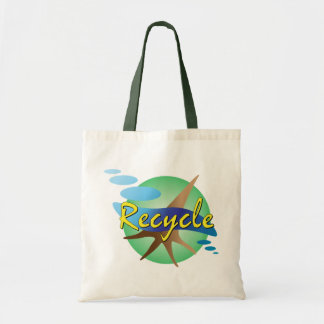 Recycle Budget Tote Bag