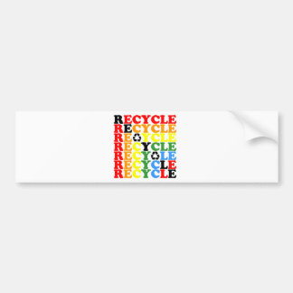 Recycle Bumper Stickers