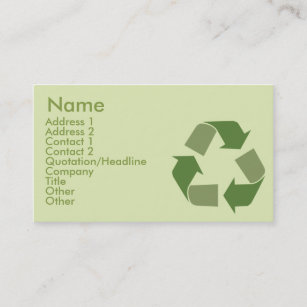 Recycling business cards zazzle uk recycle business business card colourmoves