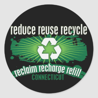 Recycle Connecticut Stickers