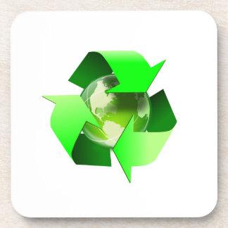 Recycle Beverage Coasters