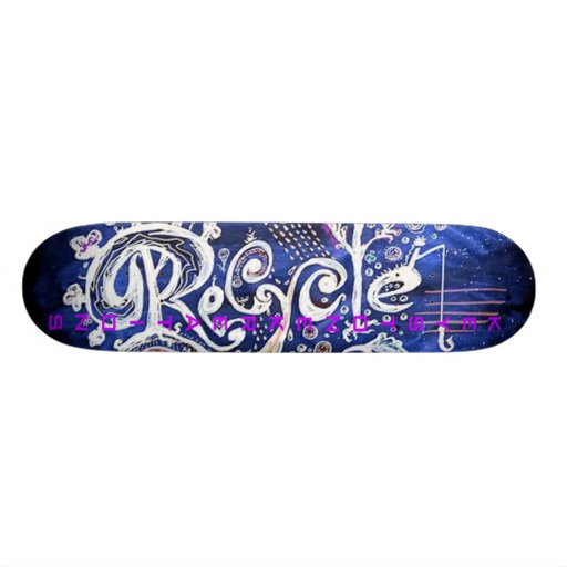 Recycle Deck Skate Board Decks