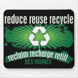 Recycle Des Moines Mousepad