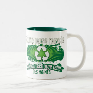 Recycle Des Moines Mug