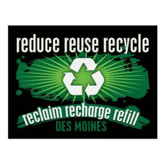 Recycle Des Moines Postcard