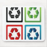 Recycle design mousepad