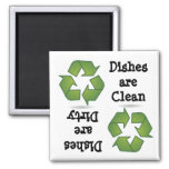Recycle Dishwasher Magnet