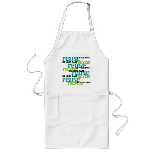 Recycle Do Your Part Apron