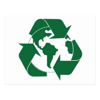 Recycle Earth Postcard