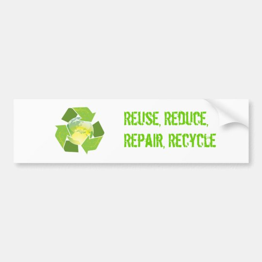 Recycle Earth Sticker