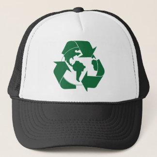 Recycle Earth Trucker Hat