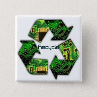 Recycle Electronics Button