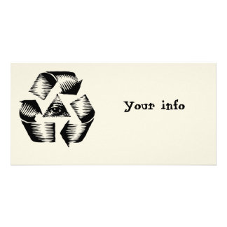 Recycle Eye Photo Card