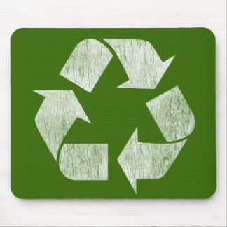 Recycle - Go Green Mouse Mat