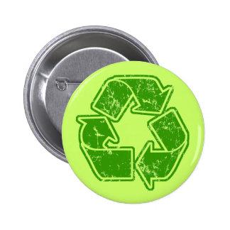 Recycle Graphic Vintage 6 Cm Round Badge