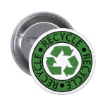 Recycle Green Logo BK Letters Badge