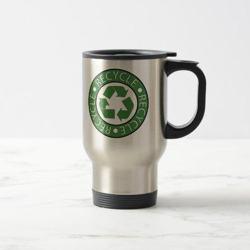 Recycle Green Coffee Mug
