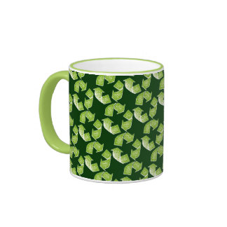 recycle green sign mugs