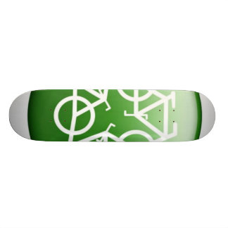 Recycle Green Skate Boards
