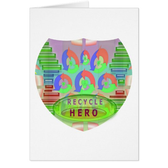 RECYCLE HERO AWARD - Encourage Now Card